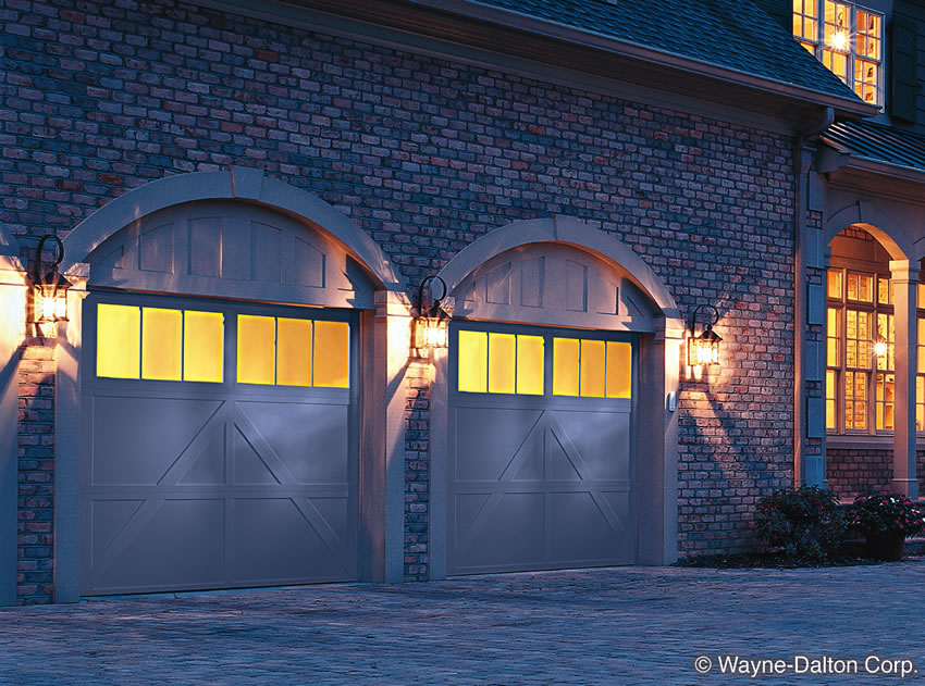 dalton pin white decorative doorsdoor wayne doors is a garage hardware this sonoma